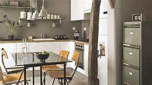 amenager une cuisine ouverte cote maison With faire une cuisine ouverte