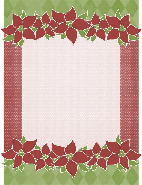holiday stationery  word   formats