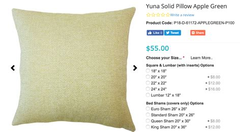 standard pillow size size it up a guide to throw pillow sizes the pillow