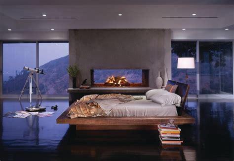 santos platform bed contemporary bedroom los angeles