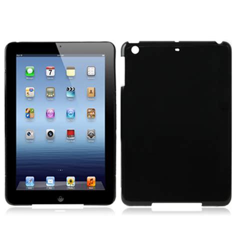 pure color plastic case  ipad mini black