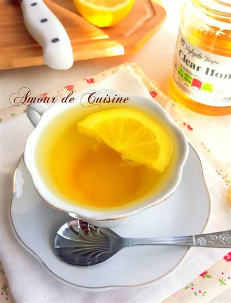 de amour de cuisine boisson détox citron gingembre curcuma amour de cuisine