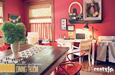 multi purpose dining room  robb restyle