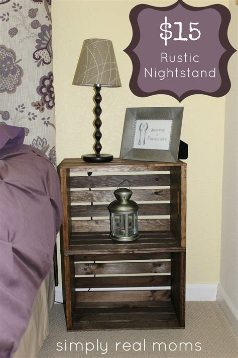 How To Make A Covered Headboard by Simply Made Sunday 15 Rustic Nightstand