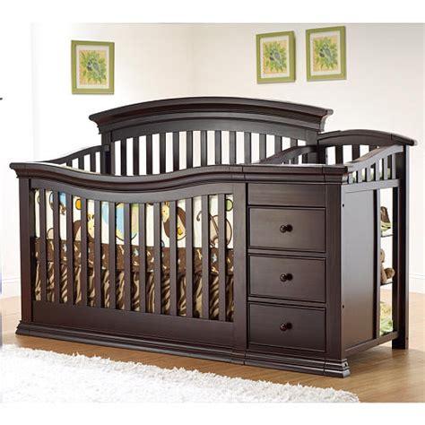 convertible crib with changing table appreciating convertible cribs