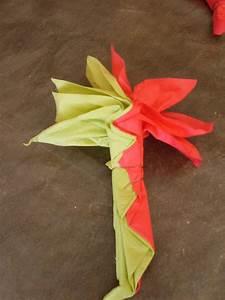 Fleur En Papier Serviette : pliage de serviette en papier pour la table ~ Melissatoandfro.com Idées de Décoration