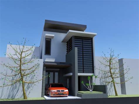 contoh rumah  denah ukuran    contoh rumah