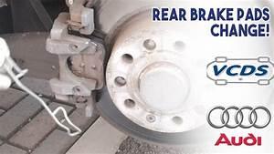 Audi A3 Break : audi a3 8v 2013 rear brake pads change with vcds for electronic parking brake youtube ~ Medecine-chirurgie-esthetiques.com Avis de Voitures