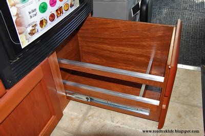 roadtrek modifications mods upgrades and gadgets adding a slide out pantry