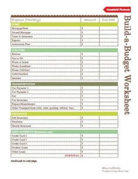 Printable Teen Budget Worksheet  Help Your Teen Budget His Allowance!  Kids' Chores And