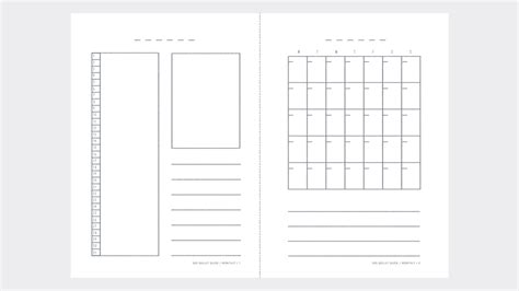 print  bullet journal diary templates   fro