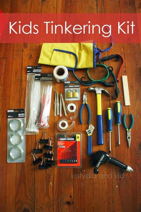 creative tinkering projects  kids