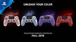 Sony Adds New Colors To Ps4 Dualshock 4 Wireless
