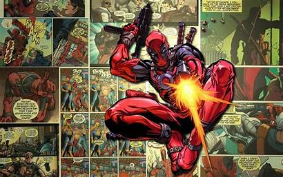 Deadpool Wallpapers Desktop Comic Background Comics Marvel