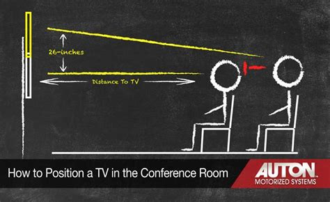 position  tv    conference room auton