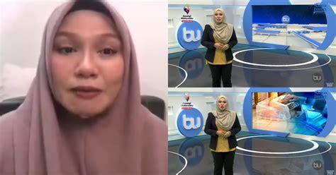 tular baca berita bak prfesional suri rumah  berjaya jadi penyampai buletin utama tv