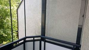 Balkon Trennwand Ohne Bohren : ein katzennetz ohne bohren anbringen katzennetze nrw der katzennetz profi ~ Bigdaddyawards.com Haus und Dekorationen