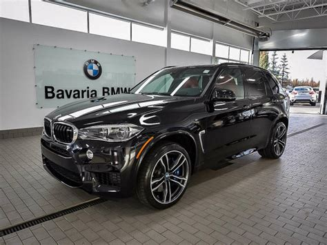 New Bmw X5 M by New 2018 Bmw X5 M X5 M Suv In Edmonton 18x51052 Bavaria Bmw