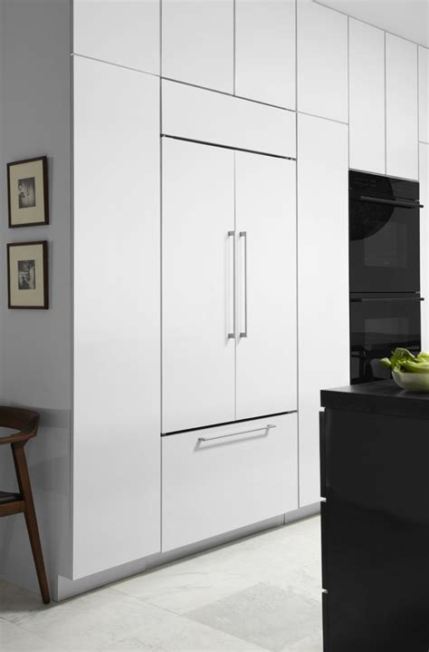 panel ready refrigerator panel ready refrigerator kitchen traditional with built in refrigerators french door