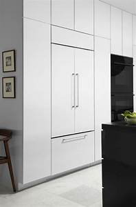 Panel Ready Refrigerator Kitchen Traditional With Built In