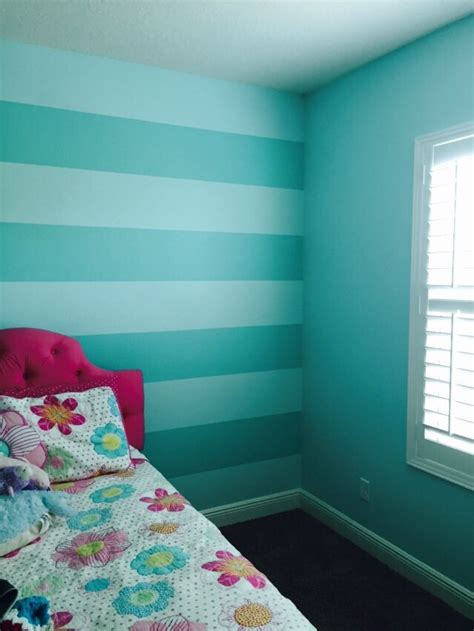 sherwin william aquatint and sw tantalizing teal stripes
