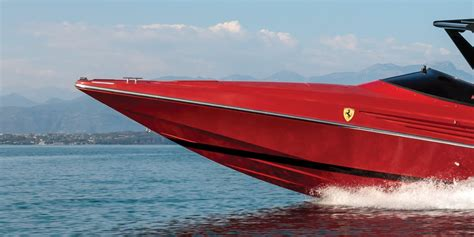 Piero ferrari may come from a car background, but he also has a passion for boats. Riva Ferrari speedboat - Business Insider