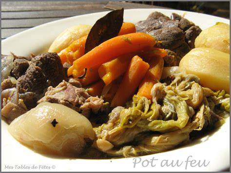 pot au feu une variante 224 ma fa 231 on mes tables de f 234 tes