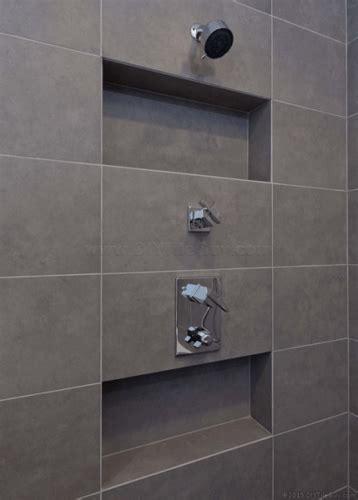 recessed shampoo niche   exterior wall diytileguy