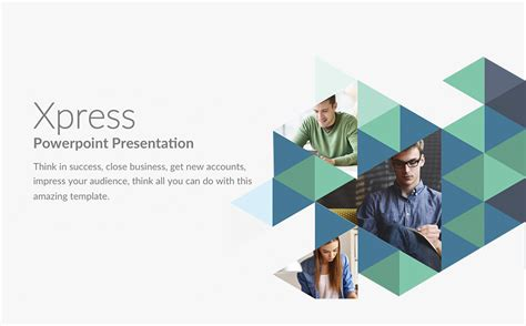xpress powerpoint template 63886