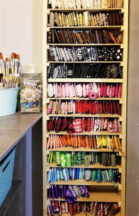 ribbon storage ideas   amaze   craft enthusiasts