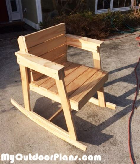 diy rocking chair myoutdoorplans free woodworking