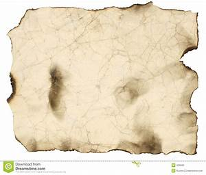 Old Burnt Paper Sheet Stock Photo - Image: 426660