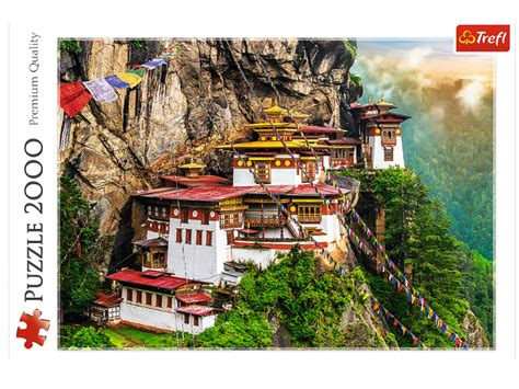 Sestavljanka Tigrovo gnezdo Butanske Alpe poleti | Eigrače.com