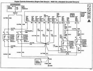 Need Wiring Diagram For 2002 K2500 Gmc With Oxygen Sensor