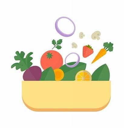 Plate Healthy Vegetables Health Fruit Variety Sg