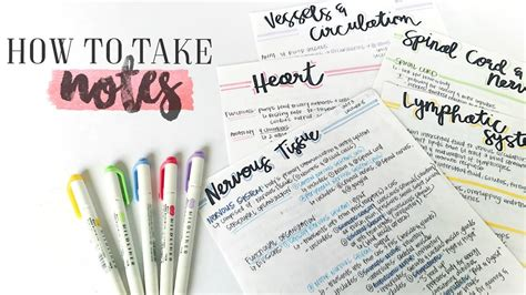 awesome notes study effectively