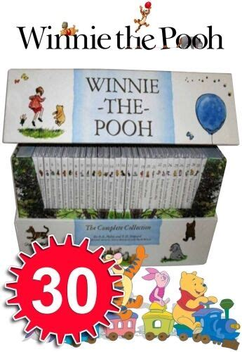 winnie the pooh complete collection 30 books box bn 9781405255493 ebay