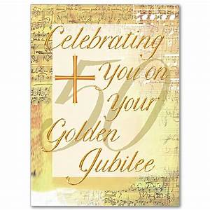 Celebrating You On Your Golden Jubilee Priest Or