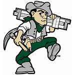 Miner Joe Logos Athletics Mascot Mst Missouri