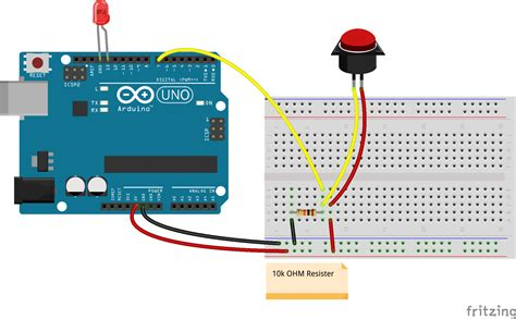Arduino Switch javascript arduino bumper switch controlling a led