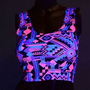 Neon Pink & Black Aztec Print Tank from Coquetry Clothing