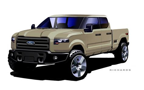 future ford ford atlas concept evolution from sketch to show stopper
