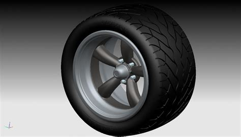 1/24th Scale Pro-touring Tires And Wheels. Gauging