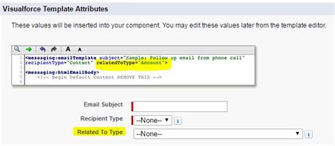 visualforce email template apex visualforce email template where is by related to selector salesforce stack exchange