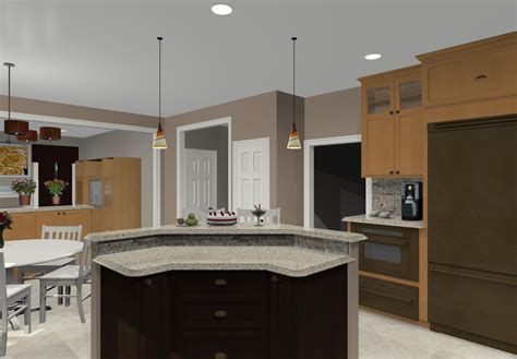 corner kitchen island two tier kitchen island different island shapes for