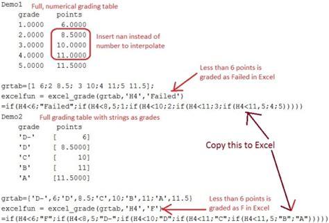 Excel Grade Mapper