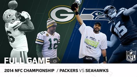packers  seahawks  nfc championship game aaron