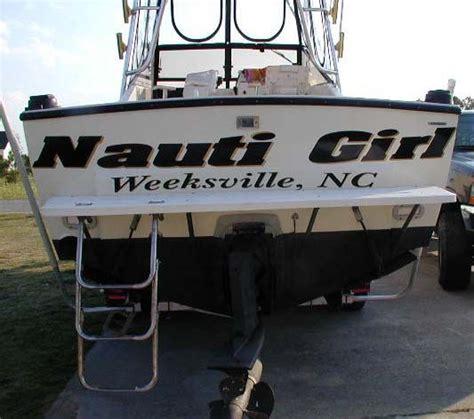 Nauti Girl Boat by Nauti Girl Http Iboats Boat Names Pinterest