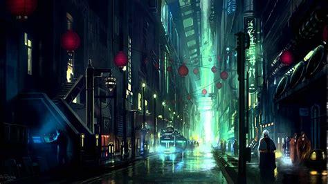 sci fi cyberpunk city ambience sounds youtube