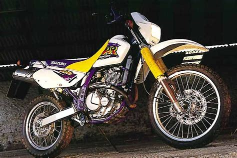 suzuki dr350 1992 1999 review speed specs prices mcn